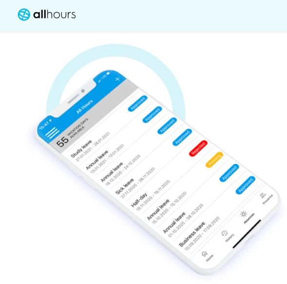 AllHours time and cost tracking