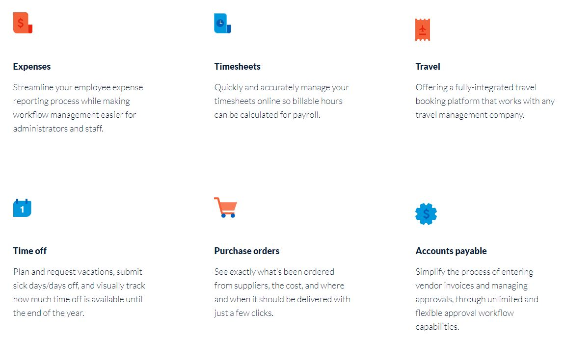 Nexonia Expenses track your billable hours