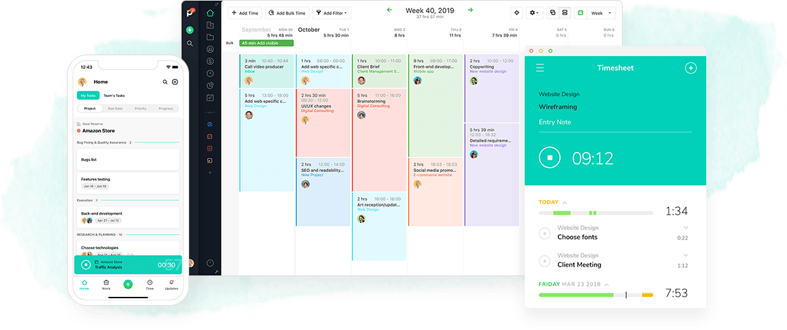 Paymo plan and schedule your team's projects