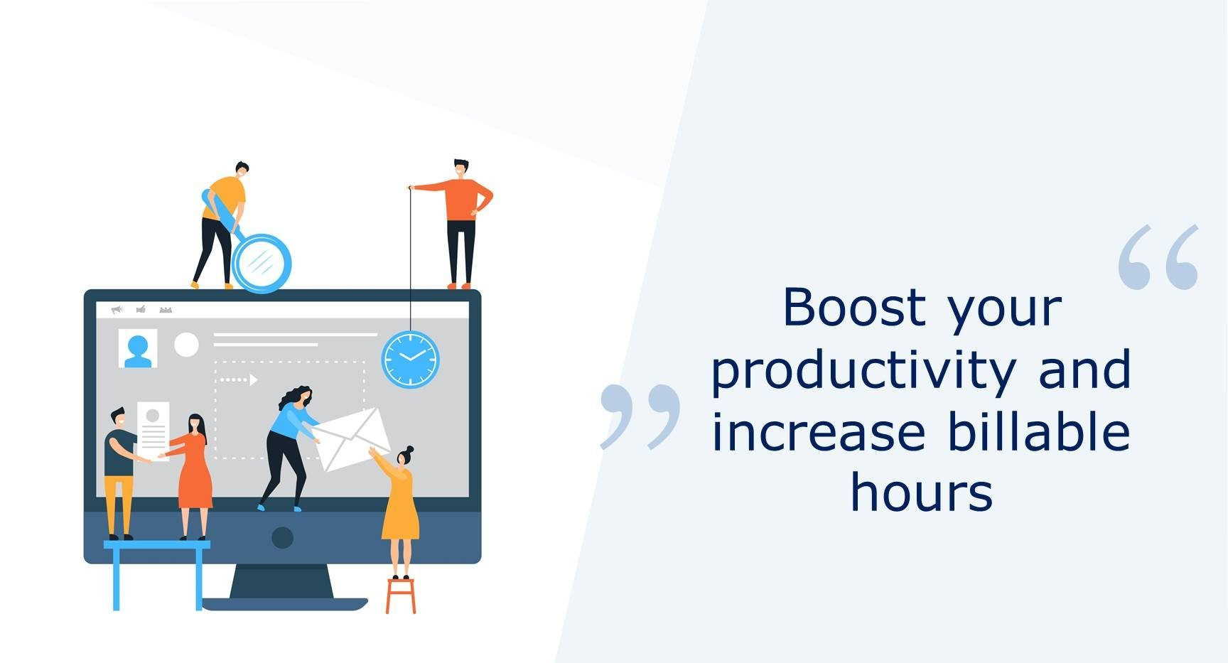 BOOST productivity with time tracking for consulting
