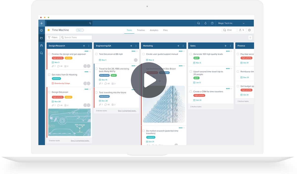 Taskworld tracking project and billable hours
