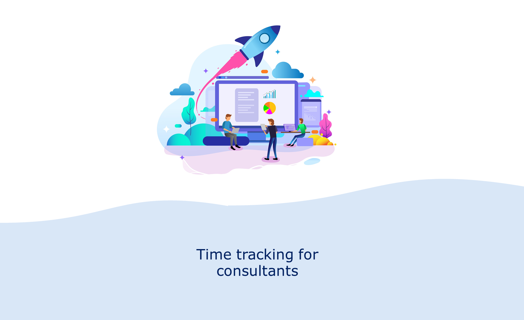 Time tracking for consultants