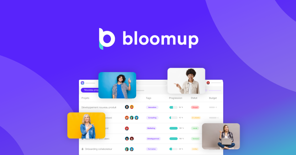 bloomup work hour tracker