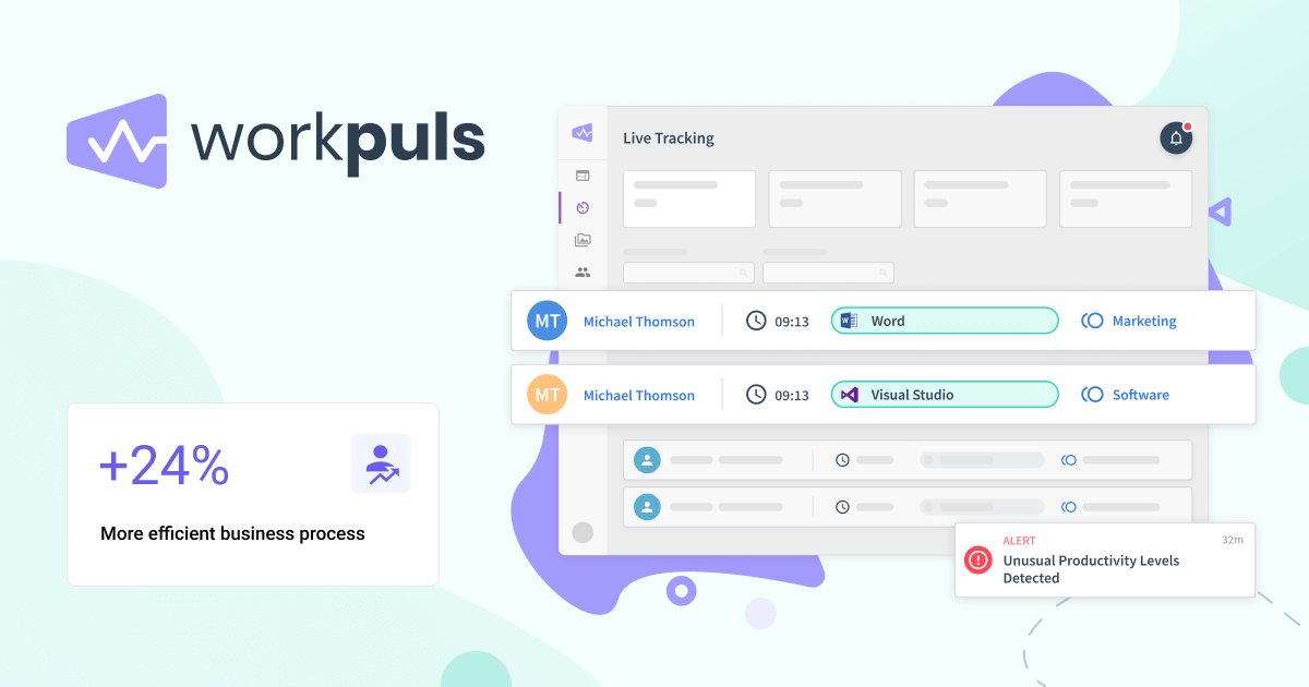 workpuls Team time tracking